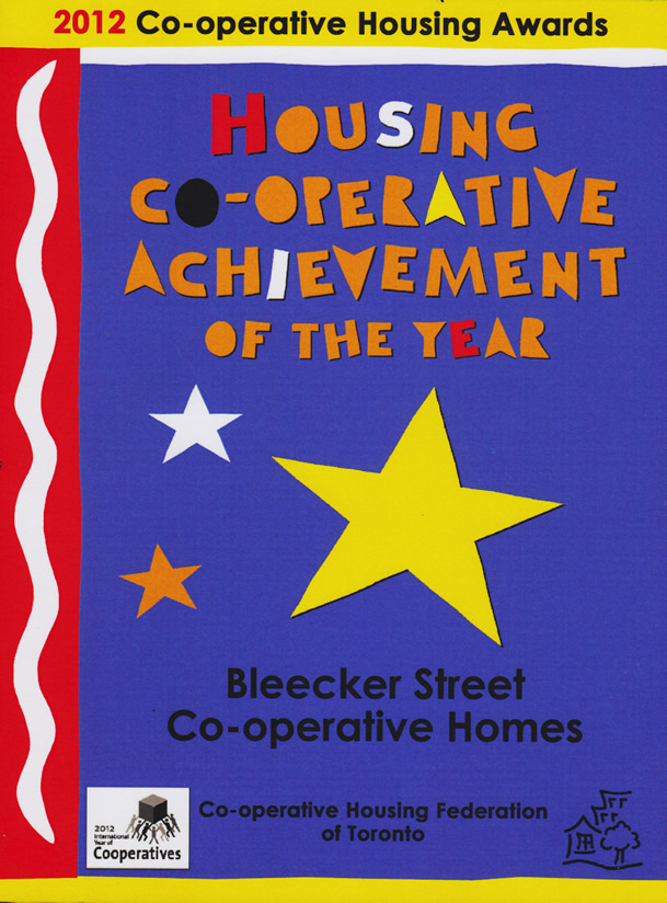 Achievement of the Year Award 2012