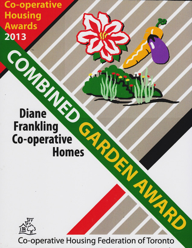 Combined Garden Award 2013