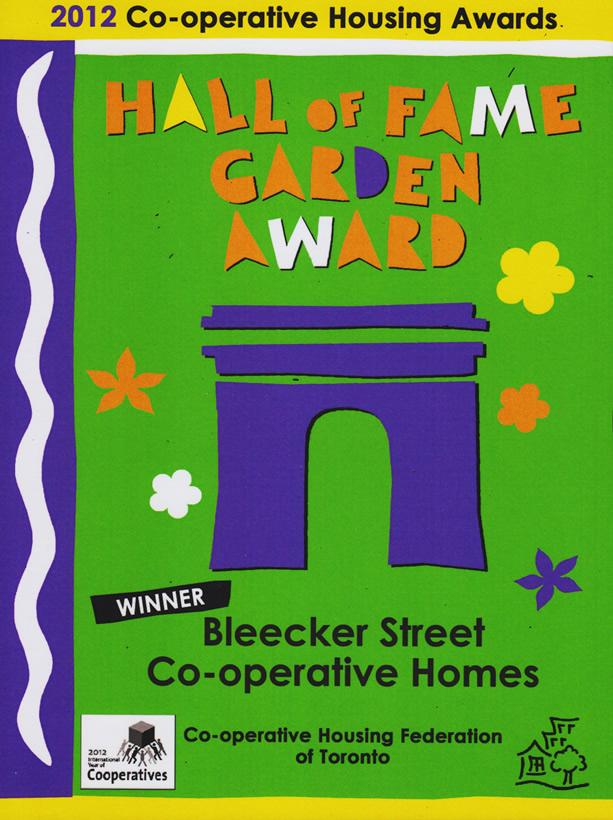 Garden Award 2012